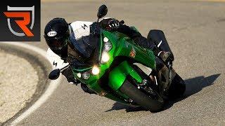 8. 2017 Kawasaki Ninja ZX-14R First Test Review Video | Riders Domain
