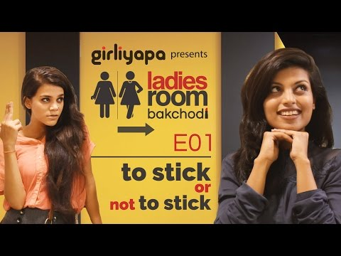 Video Girliyapa's Ladies Room Bakchodi E01 | 'To Stick or Not to Stick' download in MP3, 3GP, MP4, WEBM, AVI, FLV January 2017