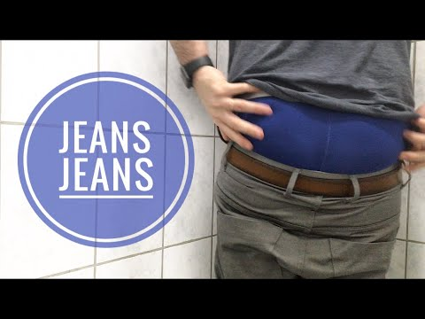SAGGING AT WORK ep 04 - Jack and Jones Jeans (Dale Colin Coated Grey Tapered Antifit)