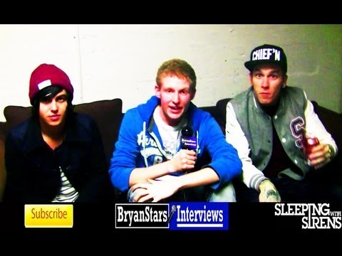 bryanstars - Checkout my backstage interview with Sleeping With Sirens, featuring Kellin Quinn, Vic Fuentes, Damon Fizzy and more!! Watch my first interview with Sleeping...