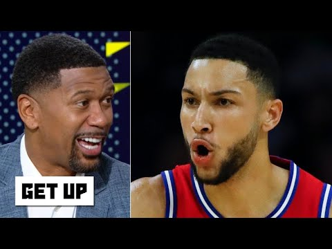 Jalen Rose reacts to Ben Simmons' first made 3-pointer for the 76ers   Get Up