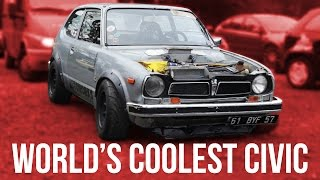 The World's Coolest Built-Not-Bought Honda Civic by Car Throttle