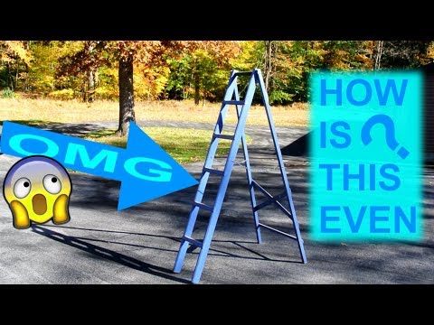Homemade 2x4 stepladder: the ultimate in comfort and safety?