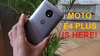Moto E4 Plus is launched and check it out.