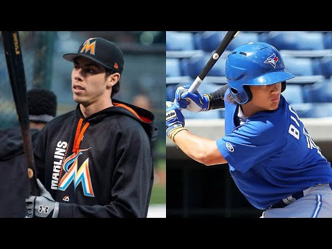 Video: Marlins' Yelich perfect for Jays, even if it costs Bichette