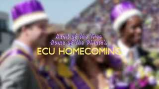 East Carolina's Homecoming events were celebrated from September 29th - Oct 4th. These events included the annual Cannon Ball Dance, The NPHC Step Show, The ...