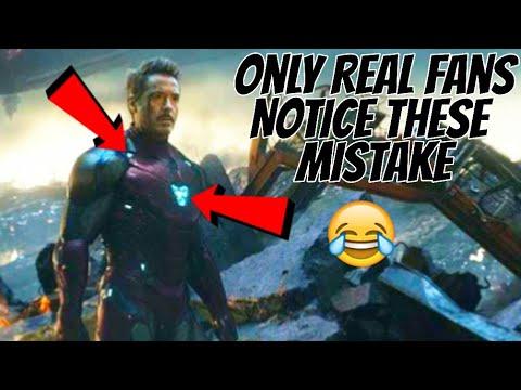Mistakes In Avengers Endgame Full Movie 2019 Hindi Dubbing - Haq Se Hero