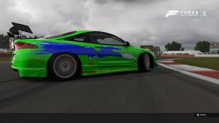 Nonton Forza 5 - Mitsubishi Eclipse GSX 1995 (Brian O'Conner Fast & Furious 1) Drift Build! Film Subtitle Indonesia Streaming Movie Download