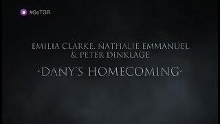 Game of Thrones 7ος κύκλος. Οι πρωταγωνιστές Emilia Clarke, Peter Dinklage & Nathalie Emmanuel σχολιάζουν την επιστροφή...