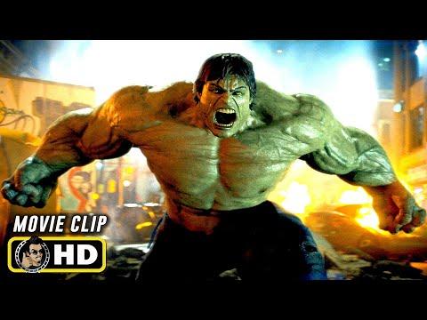 THE INCREDIBLE HULK (2008) Hulk Confronts Abomination [HD]