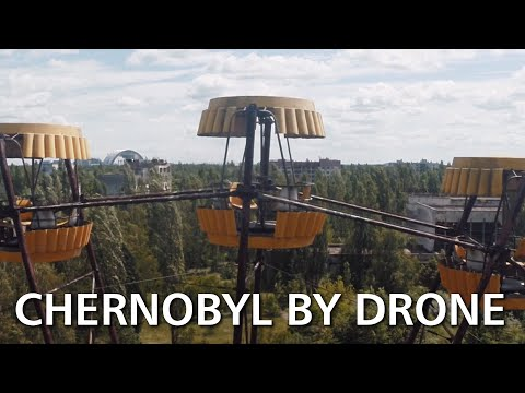 Hauntingly beautiful video of Chernobyl, filmed on a drone