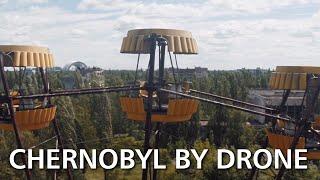 Survol de Tchernobyl en drone