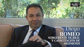 Diego Romeo - Subgerente de RR.II. y Capacitación de Arizmendi