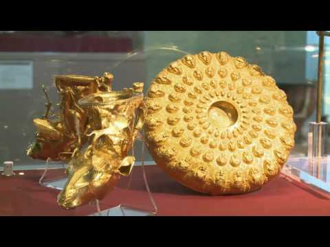 Exhibition of Thracian treasures at the Louvre.