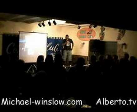 Michael Winslow and Alberto at the Gipsy Comedy Club