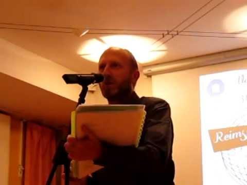 Olivier Vanderaa@Reims Slam d'Europe: European Meeting of Poetry Slam