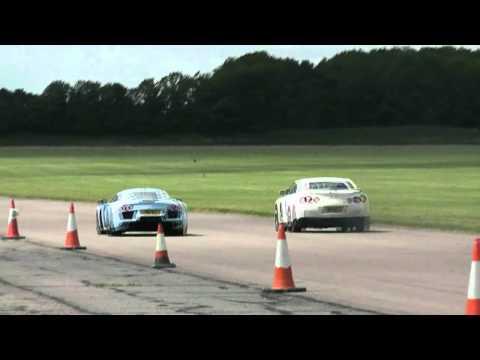 Noble M600 vs Nissan R35 GTR [HD]