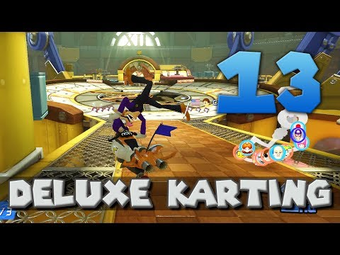 [13] Deluxe Karting (Mario Kart 8 Deluxe w/ GaLm and friends) (видео)