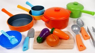 Video Cookware Pots and Pans Toy Playset for Children Kitchen Cooking Vegetable Soup Pretend Play for Kids MP3, 3GP, MP4, WEBM, AVI, FLV Agustus 2017