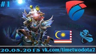 NewBee vs Malaysia, game 1