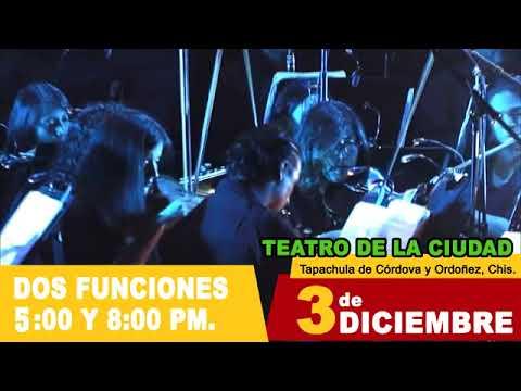 Lo Mejor de Cinema Sinfónico en Tapachula