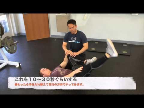 【疲労やケガに影響大!】骨盤の傾きを治すセルフ・ケア