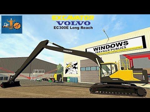 Volvo EC300E Long Reach v1