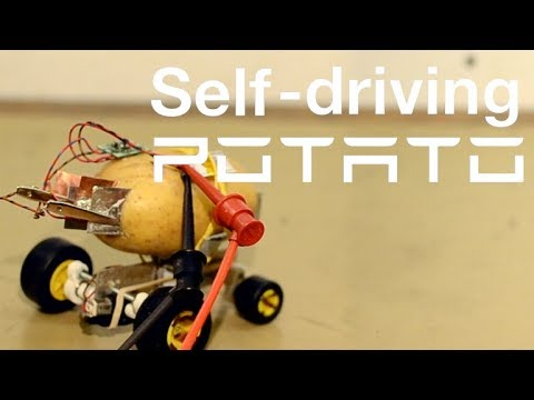 Guy Invents a SelfDriving Potato That Acts Like a