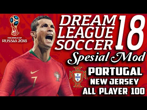 Download Dream League Soccer 18 Mod Portugal Fifa World Cup Russia 2018 | Hack Unlimited Money