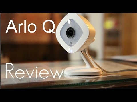 The Best HD 1080p Consumer Friendly Security Camera? Arlo Q - Setup & Demo