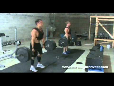 Rich Froning Jr.  – 2011 & 2012 Crossfit Champion using MiR Weighted Vest
