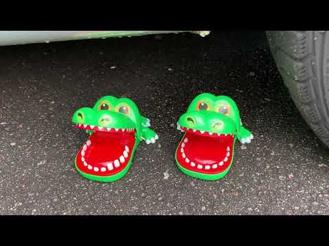 Crushing Crunchy & Soft Things by Car! - EXPERIMENT- CAR VS CHICKEN