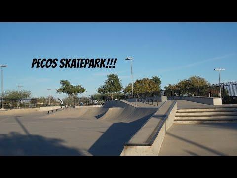 PECOS SKATE PARK!!! Vlog28