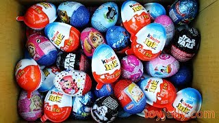 Video New Super Kinder Joy Surprise Eggs for Boys & Girls Unboxing Play Doh Toys Learn Colors Fun for Kids MP3, 3GP, MP4, WEBM, AVI, FLV April 2018