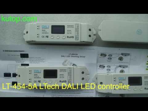 LT-454-5A LTech 4CH DALI LED controller - kutop.com