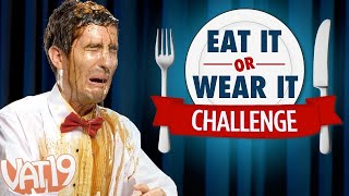 Video Eat It or Wear It Challenge (Would you eat Slime or wear a Fish Smoothie?) MP3, 3GP, MP4, WEBM, AVI, FLV Desember 2018