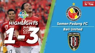 Video Semen Padang FC Vs Bali United: 1-3 All Goals & Highligts MP3, 3GP, MP4, WEBM, AVI, FLV Oktober 2017