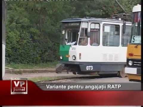 Variante pentru angajații RATP
