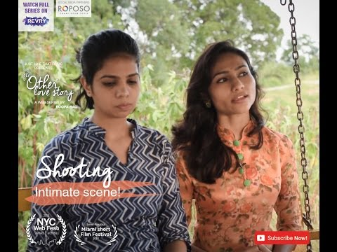 On shooting the intimate scene | Chit Chat  Diaries #2 | JLT's The Other Love Story
