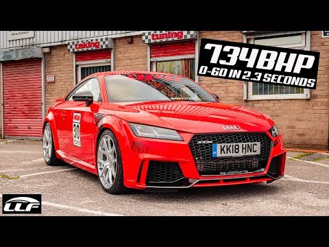 THIS 734BHP AUDI TTRS DOES 0-60 IN 2.3 SECONDS