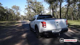 2017 Mitsubishi Triton GLS Sport Edition 0-100km/h & engine sound. Head over to http://performancedrive.com.au/2017-mitsubishi-triton-gls-sport-edition-review-video-2009/ for the full review.2017 Mitsubishi Triton GLS Sport Edition2.4-litre turbo-diesel four-cylinder133kW and 430NmFive-speed automatic, part-time four-wheel driveFor more stats and test results simply head over to our performance data page here: http://performancedrive.com.au/performance-data/
