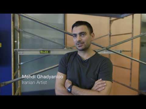 Mehdi Ghadyanloo in Ann Arbor