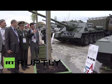Russia: ARMY-2015 - Russia's biggest arms expo - is filled with foreign delegates