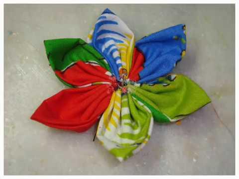 Flor de Tecido (Costurada)