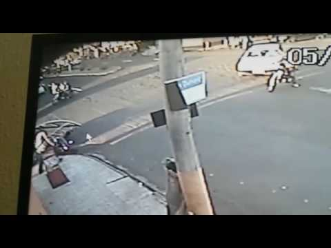 Acidente de moto em Quirinopolis. Goiás