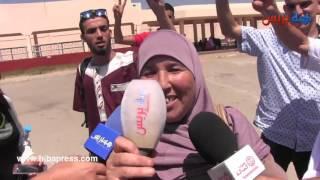 زيارة جماعية لعائلات معتقلي الريف بسجن عكاشة