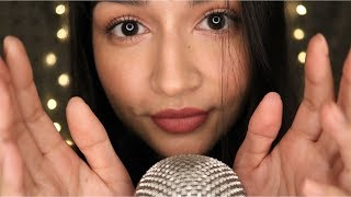 ASMR VERY Tingly Slow Face Touching and Soft Mouth Sounds