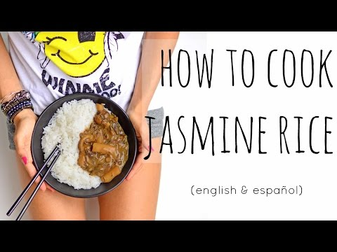 HOW TO COOK JASMIN RICE | CÓMO COCINAR ARROZ JAZMÍN