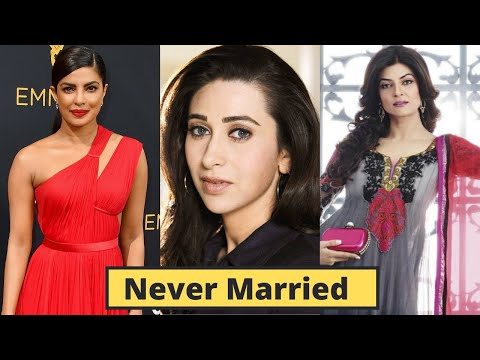 Top 10 Bollywood Actresses Who Never Married After Divorce - Priyanka Chopra, Anushka Sharma, Virat