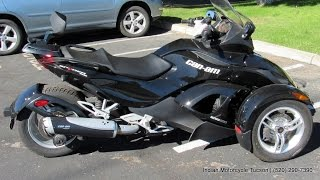 11. 2012 Can Am Spyder Roadster RS For Sale in Tucson AZ 520-290-7390 | Indian Motorcycle Tucson #UC0338
